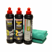 Menzerna Power Gloss, Power Finish & Super Finish Bundle