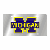 Michigan Wolverines NCAA Team License Plate