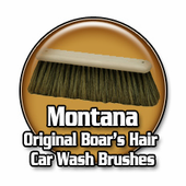 Montana Original Boar�s Hair Car Wash Brushes