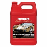 Mothers California Gold Brazilian Carnauba Cleaner Wax 128 oz.