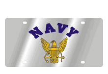 Navy Logo Arched