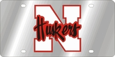 Nebraska Cornhuskers Cornhusker NCAA Team License Plate