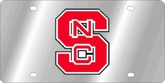 North Carolina State Wolfpack NCAA Team License Plate