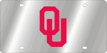 Oklahoma Sooners NCAA Team License Plate