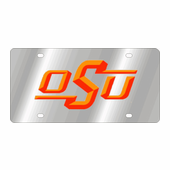 Oklahoma State Cowboys NCAA Team License Plate