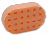 Orange Light Cutting CCS Euro Foam Hand Polish Applicator