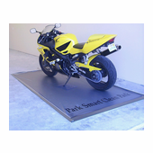 Park Smart Motorcycle Garage Mat