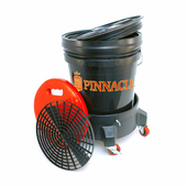Pinnacle Complete Wash Bucket System with Dolly