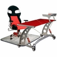 PitStop LXE Complete Office Furniture Set - RED DESK