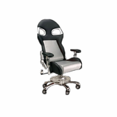 PitStop Furniture LXE Series Office Chair-SILVER