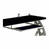 PitStop Furniture Racing Style Pullout Keyboard Tray-BLACK