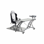 PitStop GT Complete Office Furniture Set - CLEAR DESK