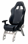 Pitstop GT Receiver Office Chair - BLACK