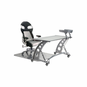 PitStop LXE Complete Office Furniture Set - CLEAR DESK