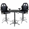 PitStop Crew Chief Caf� Set-BLACK table