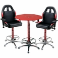 PitStop Crew Chief Caf� Set-RED table