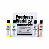 Poorboy�s World Super Swirl Remover Sample Kit