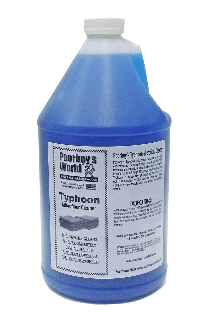 Poorboys World Typhoon Microfiber Cleaner 128 oz.