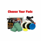 Porter Cable 7424XP & CCS Pad Kit <font color=blue>Choose Your Pads!</font> <font color=red><strong>FREE BONUS</font></strong>