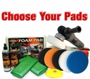 Porter Cable 7424XP & FLAT Pad Kit <font color=blue>Choose Your Pads!</font>