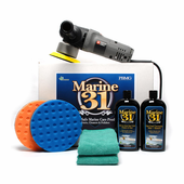 Porter Cable 7424xp Marine 31 Boat Polish & Wax Kit <font color=red>Free Bonus!</font>
