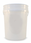 Professional 5 Gallon Car Wash Bucket - CLEAR