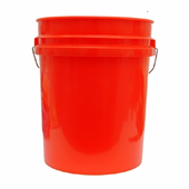 Professional 5 Gallon Car Wash Bucket - RED