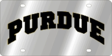 Purdue Boilermakers NCAA Team License Plate