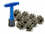 Recessed Wheel Lug Nut Brush Kit