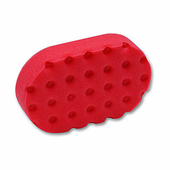 Red UltraSoft CCS Euro Foam Hand Polish Applicator