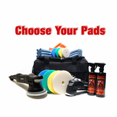 Rupes Big Foot MarkII Random Orbital Detailer�s Kit - Choose Your Pads! <font color=red><b>FREE SHIPPING</font></b>