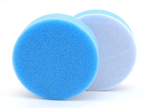 Single 3 x 1.25 Inch Hydro-Tech Cyan Advanced Cutting Foam Pad