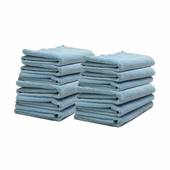 Sky Blue Edgeless Polishing Cloths - 12 Pack