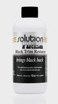 Solution Finish Black Plastic & Vinyl Restorer 12 oz.