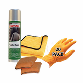 Sonax Quick Clean Leather Combo