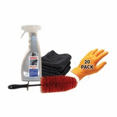 Sonax Wheel Cleaner & Speed Master Wheel Brush Combo