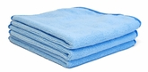 Special Purchase Light Blue Microfiber Towel, 3 Pack