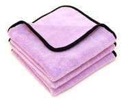 Super Plush Junior Microfiber Towels 16 x 16 inches - 3 Pack