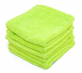 Super Soft Deluxe Microfiber Towels with Rolled Edges 6 pack