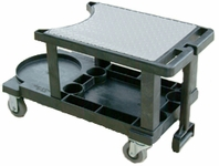 The Workhorse Auto Detailing Supplies Cart
