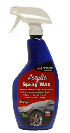 Ultima Acrylic Spray Wax – 22 oz.