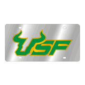 Univ. Of South Florida Bulls NCAA Team License Plate