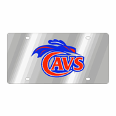 Univ. Of Virginia Cavs NCAA Team License Plate