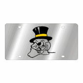 Wake Forest Demon Deacons NCAA Team License Plate
