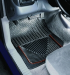 WeatherTech Front Pair Rubber Floor Mats