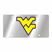 West Virginia Mountaineers NCAA Team License Plate