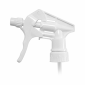 White High Volume Sprayer for 32 oz. Bottles