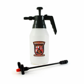 Wolfgang Chemical Resistant Pressure Sprayer with Double Barrel Extension