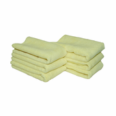 Yellow All Purpose Microfiber Towels 6 Pack