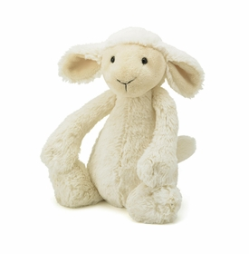 12 inch bashful lamb by jelly cat